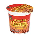 Honey Nut Cheerios Breakfast Cereal, 1.8 oz Serving Size Cups, 6/Box (GMCSN13898)