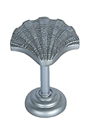 Urbanest Shell Drapery Holdback Medallion, 1 pc. (Pewter)