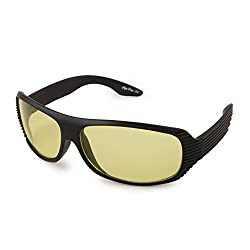 Tim Hawk Night Vision Sunglass Bike Goggles (Yellow)