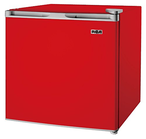 RCA RFR160-Red Fridge, 1.6 Cubic Feet, Red