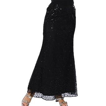 beaded evening skirt 573 black l at women s