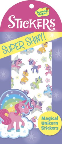 Peaceable Kingdom Shiny Foil Magical Unicorn Sticker Pack