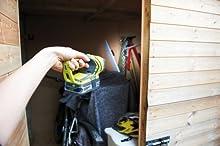 Comprar Ryobi 5133001637 - Linterna para zonas de trabajo (18 voltios)