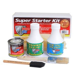 POR15 Super Starter Kit, automotive paint, cleaner, rust prevention - free delivery