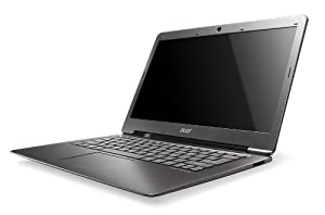 Acer Ultrabook S3-951-2464G34ISS - Ordenador portátil 13.3 pulgadas (Core i5 2457M, 4 GB de RAM, 1.6 GHz, 340 GB, Windows 7 Edition Home Premium) - Teclado QWERTY español
