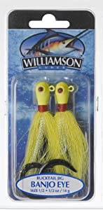 Williamson Banjo Eye Jig, 1 2-Ounce, Yellow by Williamson