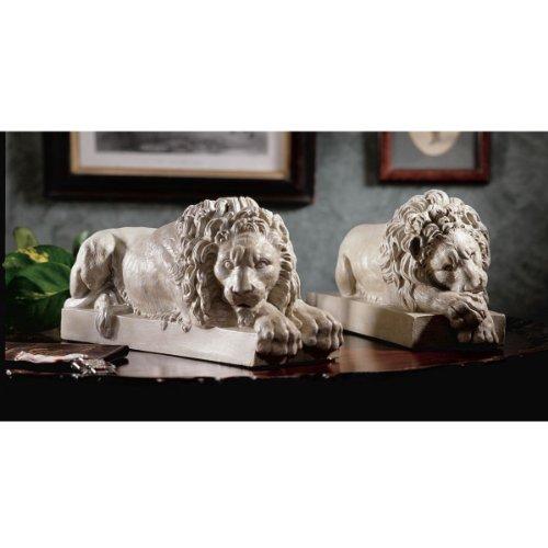 Design Toscano Lions from the Vatican Sculptures