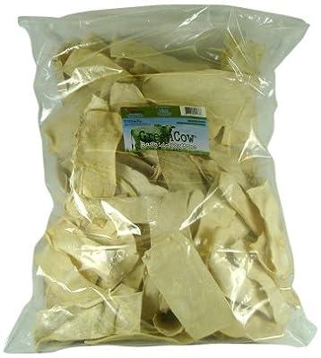 Green Cow Rawhide Dog Bones, Natural Chips, 5-Pound Bag