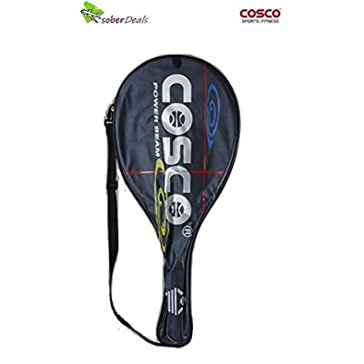 Cosco Power Beam Strung Tennis Racquet (Assorted)