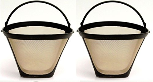 One All #4 Permanent Cone-Style Coffee Maker/Machine Filter (Metal Coffee Filter Basket compare prices)