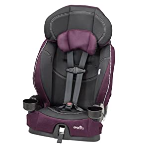 Evenflo Chase LX Harnessed Booster Car Seat, Reese