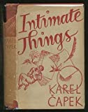 Intimate Things (0836902750) by Capek, Karel
