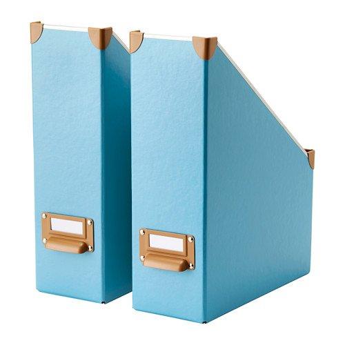 Ikea Fjälla Magazine File, Blue