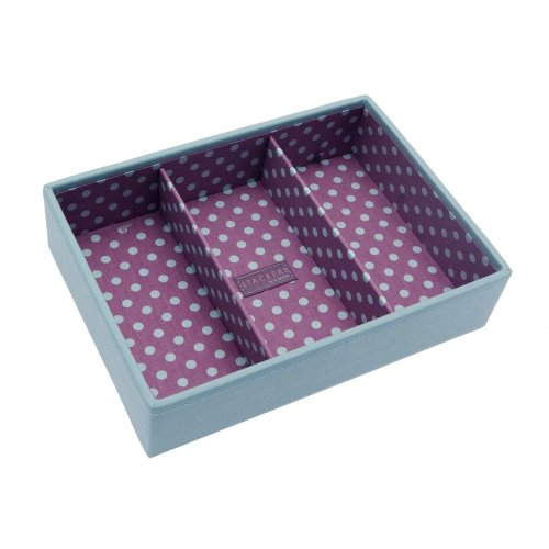 Medium Blue Pink Stacker Jewellery Tray -Deep