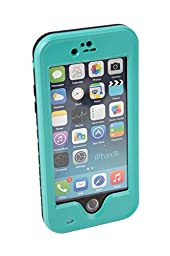 iPhax Waterproof Shockproof Snowproof Dirtproof Durable Full Sealed Protection Case Cover for iPhone 6 PLUS (Teal)