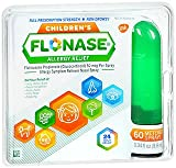 Flonase Children's Allergy Relief 60 metered Sprays, 0.34 fl oz (Pack of 2)