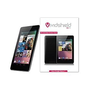 VividShield Google Nexus 7 (2012) Matte HD Anti-Glare Screen Protector - 3 Pack Screen Guard / Shield (Displayschutzfolie, Protecteurs D'écran, Pellicola Protettiva)