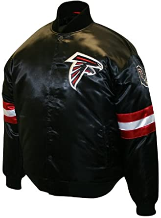 NFL Mens Atlanta Falcons Prime Satin Jacket by MTC Marketing, Inc