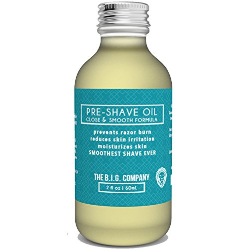 Pre-Shave-Oil-60mL-99-Natural-Pre-Shave-Oil-Perfect-for-Shaving-Kit-Using-Under-Shaving-Cream-Reduces-Skin-Irritation-Anti-Aging-Pre-Shave-Oil-Doubles-as-Beard-Oil
