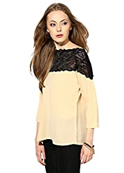Raindrops Women's Top(1168A003E-Beige-S)