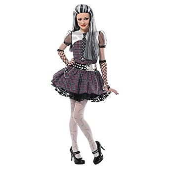 Monster High Frankie Stein Costume Girls Medium 8 - 10