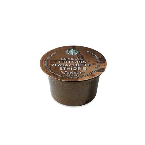 Starbucks® Ethiopia Yirgacheffe® Espresso Verismotm Pods, 12Servings front-548212