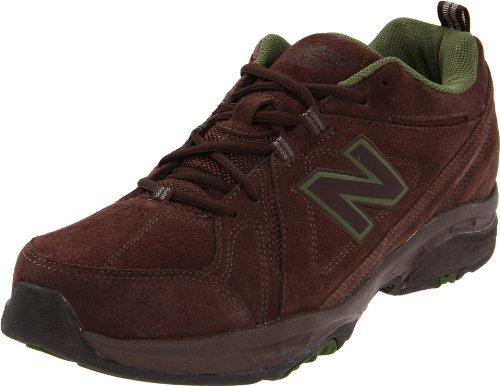 New Balance Men's MX608V3 Cross-Training Shoe,Brown,9.5 4E US