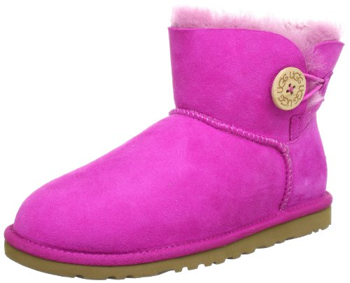 UGG W's Mini Bailey Button 3352, Stivaletti donna, Rosa (RASPBERRY SORBET (RSPS)), 39