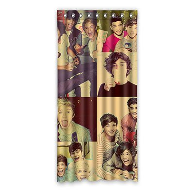 PengPeng Custom One Direction Fabric Room Window Curtains/drape/panels 52