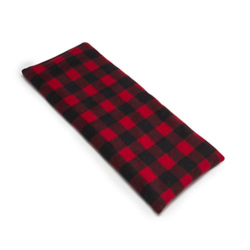 Sunny Bay Body Heating Wrap, Rice Filled, Washable Buffalo Plaid Red Fleece Cover, X-Large (Rice Heat Bag compare prices)