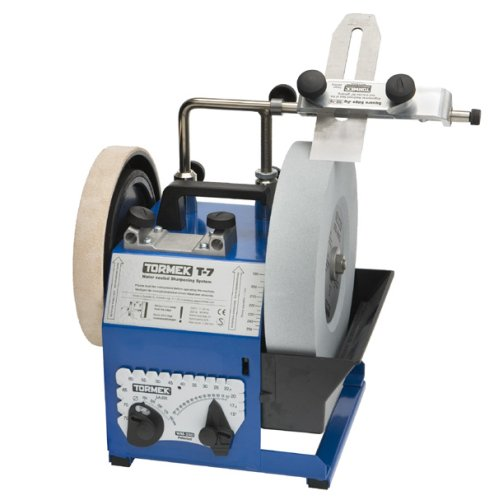 Tormek Sharpening System Woodturner Bundle TBW702 T-7. A Complete Water Cooled Sharpener With Woodturning Jigs.