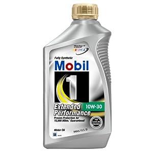 Mobil 1 44978 10w 30 extended performance synthetic motor for Mobil motor oil rebate