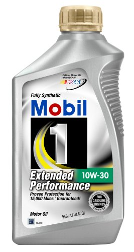 Mobil 1 44978 10W-30 Extended Performance Synthetic Motor Oil - 1 Quart (Pack of 6) (Mobile 1 Motorcycle Synthetic Oil compare prices)