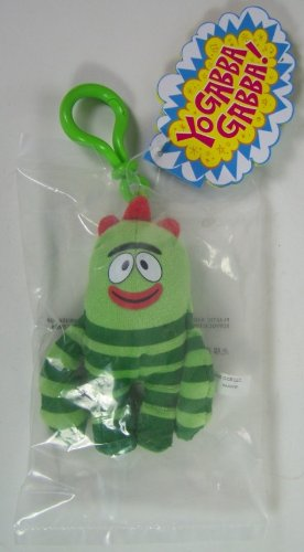 Yo Gabba Gabba: Brobee Plush Clip On Figure - 1