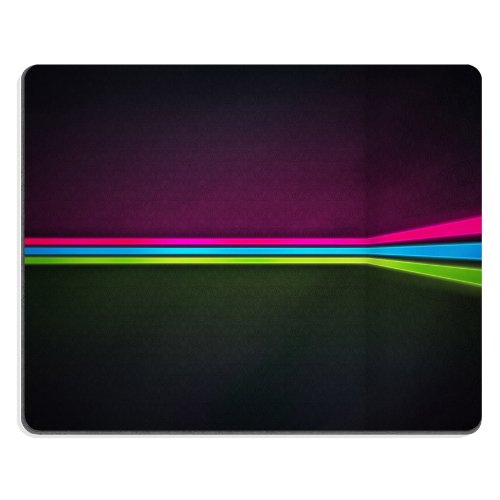 Pattern Pink Blue Green stripe Anime Comic Game ACG Mouse pads Art Design Customized Made to Order Support Ready 9 7/8 inch (250mm) x 7 7/8 inch (200mm) x 1/16 inch (2mm) High Quality Eco friendly Cloth with Neoprene rubber woocoo mouse pad desktop mousepad laptop mousepads comfortable computer mouse mat cute gaming (Pumpkin Patterns Printable)