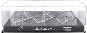 Mark Martin 1 24th Die Cast Three Car Display Case by Mounted Memories