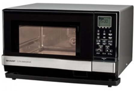 Sharp 1 Cu. Ft. 3-in-1 Microwave Oven with Steamwave and Grill Functions - AX-1100S