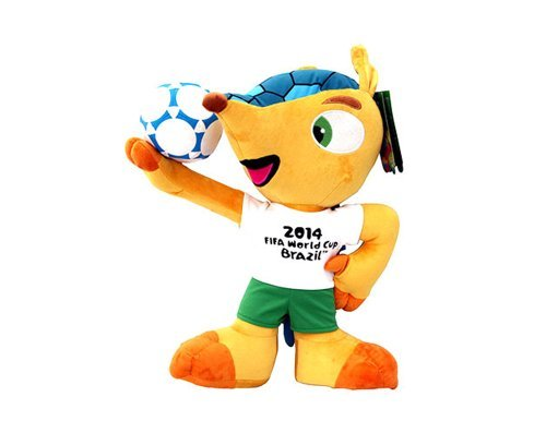 Fuleco plush 22 cm - The official mascot of the 2014 FIFA World Cup Brazil by Fédération Internationale de Football Association