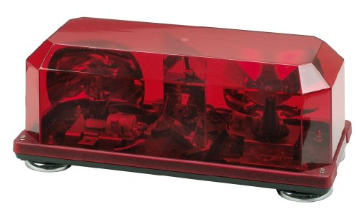 Canary Halogen Mini Bar Warning Light (Red)