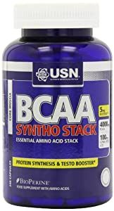 USN BCAA Syntho Stack Essential Amino Acid Stack Capsules - Tub of 240