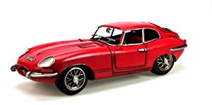 Jayland 1:12 Scale E Type Jaguar 1961 (Red)
