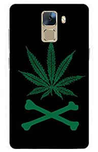 bob marley Designer Printed Back Case Cover for Huawei Honor 7