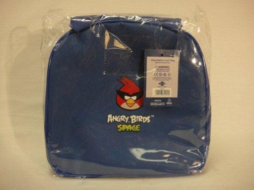 Imagen de Angry Birds Space Bag Lunch con botella de agua - Royal