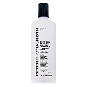 Peter Thomas Roth Glycolic Acid 10% Toning Complex New, 8.5 Ounce
