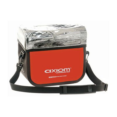 Axiom Cyclone Handlebar Bag 480 Cubic Inches Red/Black