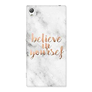 Believe Your Self Printed Back Case Cover for Sony Xperia Z3
