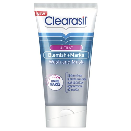 clearasil-ultra-blemish-plus-marks-wash-and-mask-150ml