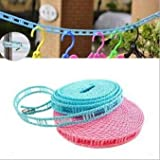 3M Long Anti Slip Clothes Drying Rope, Dry Dresses Using Clothes Hangers