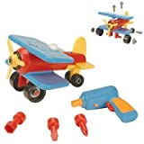 Battat Take-A-Part Airplane(Packaging May Vary)