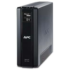 APC BR1500G Back-UPS Pro 1500VA 10-outlet Uninterruptible Power Supply